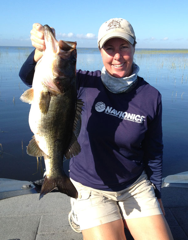 Lake okeechobee bass fishing guides fast break tackle for Lake okeechobee fishing guides