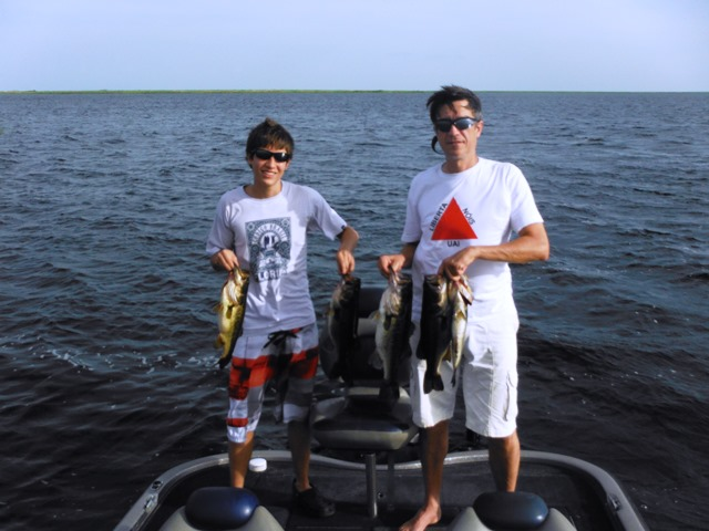 Mauricio072513 lake okeechobee bass fishing guides for Lake okeechobee fishing guides