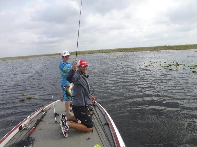 Hawaii five o on lake okeechobee lake okeechobee bass for Lake okeechobee fishing guides