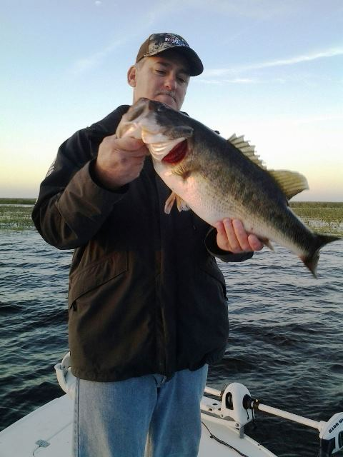 Dale uzmack 3 lake okeechobee bass fishing guides for Lake okeechobee fishing guides