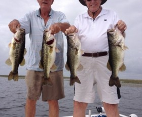 Warm Weather on Lake Okeechobee