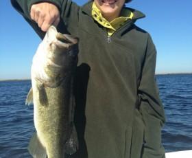 Great Lake Okeechobee Bass Fishing
