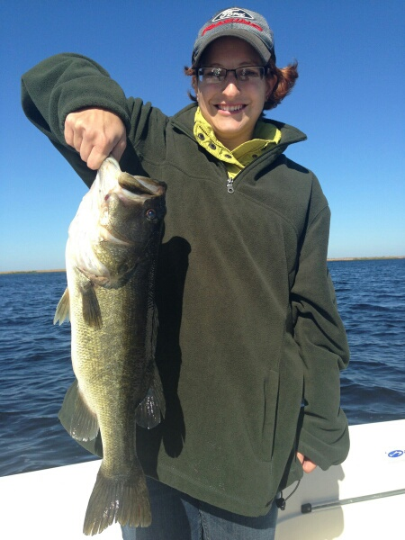 Dec141 lake okeechobee bass fishing guides for Lake okeechobee fishing guides