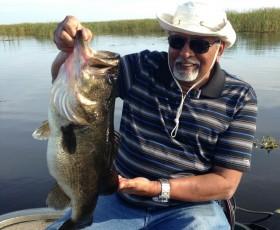 New Year Brings Big Bass on Lake Okeechobee