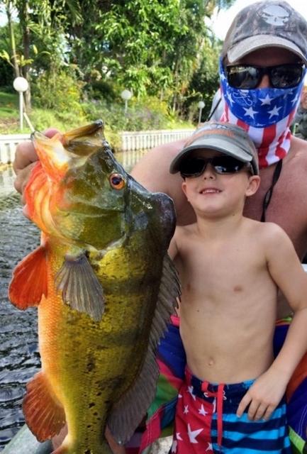 Peacock Bass Fishing Trips - Lake Okeechobee Bass Fishing ...